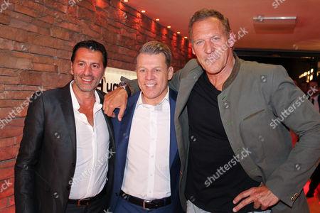 Ugo Crocamo (Inhaber Restaurant Hugo's), Axel Kahn, Ralf Moeller,..