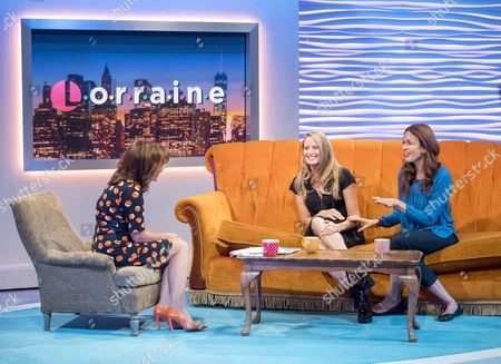 Lorraine Kelly, Jane Sibbett and Jessica Hecht