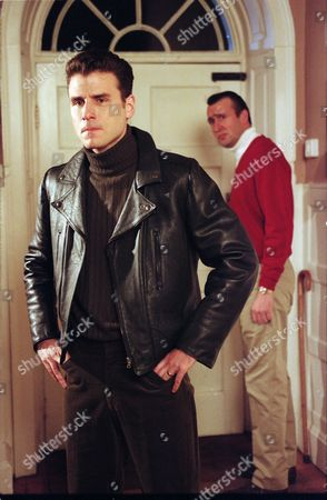 Jason Durr (as PC Mike Bradley) and Nicholas Pritchard (as Anthony Smythe)