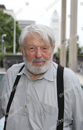 "Actor Theodore Bikel pose during the arrivals for the opening night performance of ""A Parallelogram"" at the Center Theatre Group/Mark Taper Forum, in Los Angeles, Calif"