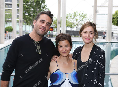 """From left, actor Bobby Cannavale, director Anna D. Shapiro and actress Rose Byrne pose during the arrivals for the opening night performance of """"A Parallelogram"""" at the Center Theatre Group/Mark Taper Forum, in Los Angeles, Calif"""
