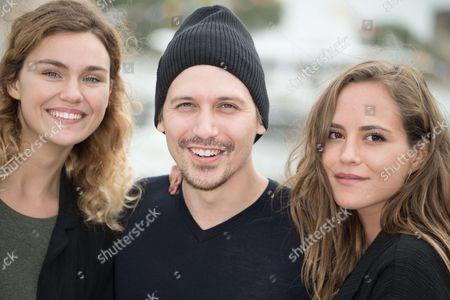 Stock Photo of Margot Luciarte, Joffrey Verbruggen and Lea Arnezeder