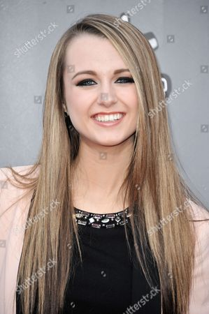 """Bria Kelly seen at """"The Voice"""" Top 12 Red Carpet Event on in Universal City, Calif"""