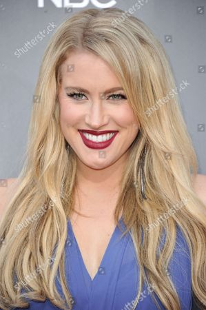 """Stock Image of Dani Moz seen at """"The Voice"""" Top 12 Red Carpet Event on in Universal City, Calif"""