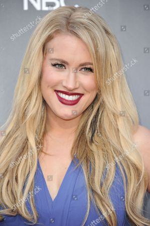 """Stock Picture of Dani Moz seen at """"The Voice"""" Top 12 Red Carpet Event on in Universal City, Calif"""