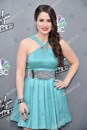 "Audra McLaughlin seen at ""The Voice"" Top 12 Red Carpet Event on in Universal City, Calif"