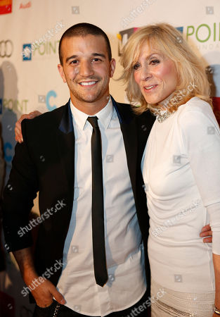 """Mark Ballas Jr. and Judith Light arrive at """"Voices On Point"""" Concert & Gala held at The Wiltern theatre, in Los Angeles"""