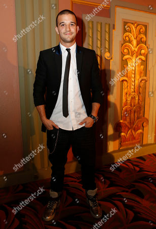 """Mark Ballas Jr. arrives at """"Voices On Point"""" Concert & Gala held at The Wiltern theatre, in Los Angeles"""
