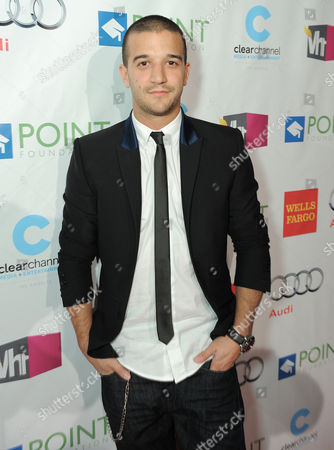 """Stock Image of Mark Ballas Jr. arrives at """"Voices On Point"""" Concert & Gala held at The Wiltern theatre, in Los Angeles"""