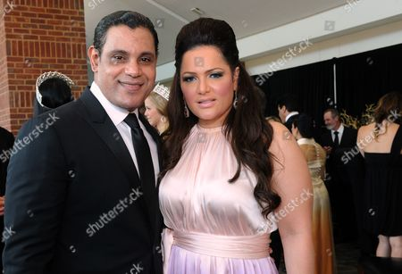 "Sammy Sosa and wife Sonia Sosa are seen at the 12th Annual Starky Foundation ""So The World May Hear"" Gala on in St. Paul, Minnesota"