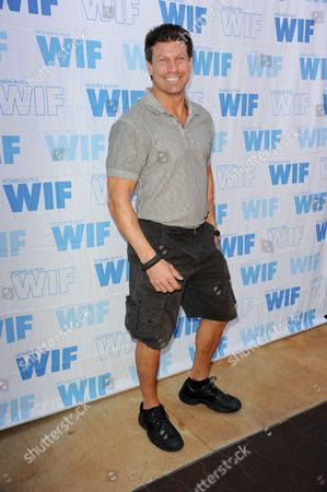 Stock Picture of Paul Logan arrives at the 16th Annual Women in Film Malibu Golf Classic at the Malibu Country Club on in Malibu, Calif
