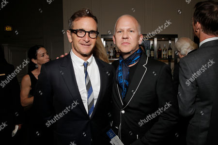 "Dante Di Loreto, left, and Ryan Murphy attend the 19th annual ""Taste For A Cure"" at the Beverly Wilshire Hotel, in Beverly Hills, Calif"