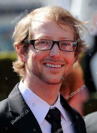 Jason Baldwin arrives at the 2012 Creative Arts Emmys at the Nokia Theatre, in Los Angeles
