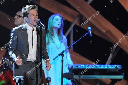 Stock Photo of Nate Reuss performs onstage during the 2012 Do Something awards on in Santa Monica, Calif