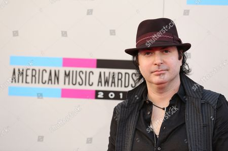 Stock Photo of Kevin Rudolf arrives at the 2013 American Music Awards, on in Los Angeles