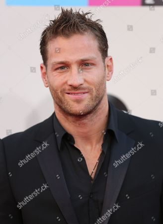 Juan Pablo Galavis arrives at the 2013 American Music Awards, on in Los Angeles