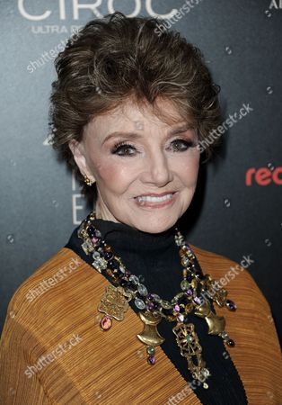 "Stock Image of Peggy McCay, from ""Days of Our Lives,"" arrives at the 40th Annual Daytime Emmy Awards, in Beverly Hills, Calif"