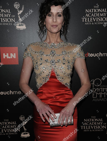 Editorial picture of 2013 Daytime Emmy Awards - Arrivals, Beverly Hills, USA