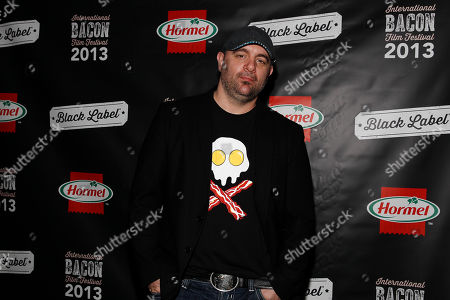IMAGE DISTRIBUTED FOR HORMEL - Chef Chris Santos attends the 2013 International Bacon Film Festival, sponsored by Hormel  Black Label Bacon on at Sunshine Cinema in New York