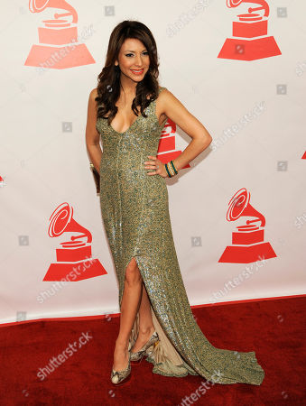 Liliana Gil arrives at the Latin Recording Academy Person of the Year tribute, in Las Vegas