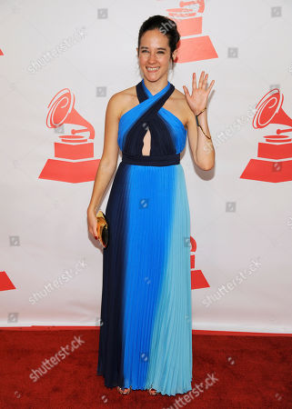 Ximena Sarinana arrives at the Latin Recording Academy Person of the Year tribute, in Las Vegas