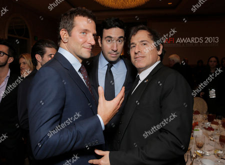 Stock Image of Bradley Cooper, Jonathan Gordon and David O.Russell attend the 14th annual AFI Awards Luncheon at Four Seasons Hotel Beverly Hills on in Beverly Hills, California