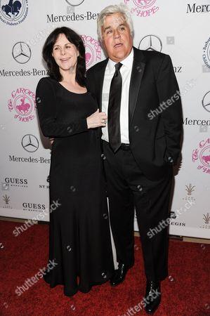 Mavis Leno, left, and Jay Leno arrive at the 2014 Carousel Of Hope Ball, in Beverly Hills, Calif
