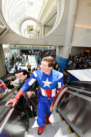 Editorial image of 2014 Comic-Con - Atmosphere, San Diego, USA