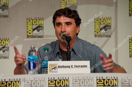 """Anthony C. Ferrante attends the """"Sharknado"""" panel on Day 1 of Comic-Con International, in San Diego"""