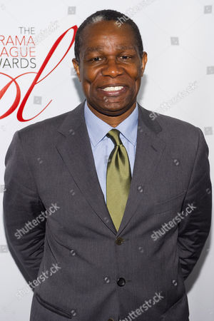 John Douglas Thompson attends the Drama League Awards on in New York