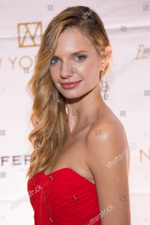 Stock Photo of Isabella Oberg attends the 20th Anniversary European School of Economics New York Ball benefit at Trump Tower, New York