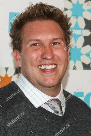 Stock Image of Nate Torrence attends the FOX Summer TCA All-Star Party at Soho House on in West Hollywood, Calif