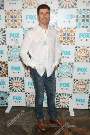 Chuck Hogan attends the FOX Summer TCA All-Star Party at Soho House on in West Hollywood, Calif