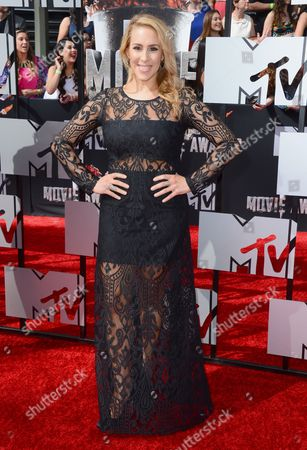 Editorial picture of 2014 MTV Movie Awards - Arrivals, Los Angeles, USA