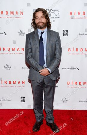 "Editorial image of 2014 NYFF - ""Birdman or The Unexpected Virtue of Ignorance"" Closing Night Gala, New York, USA"
