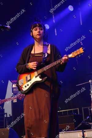 Katie Crutchfield aka Waxahatchee performs at The Sasquatch! Music Festival at the Gorge Amphitheatre, in George, Washington