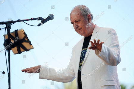 Michael Nesmith performs on the third day of the 2014 Stagecoach Music Festival at the Empire Polo Field on in Indio, Calif