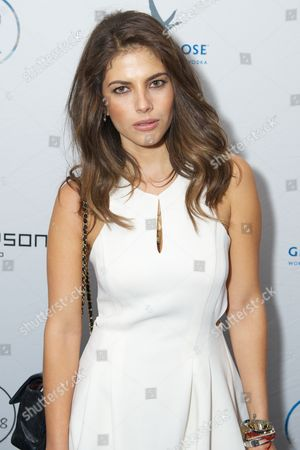 Weronika Rosati seen at the Bungalow 8 Pop-Up at the Thompson Hotel, in Toronto, ON
