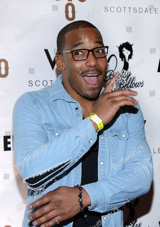 William Lifestyle arrives at the Pop Up Boosty Bellows at W Scottsdale hosted by Drake on in Scottsdale, Ariz