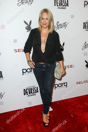 Jenn Brown attends the Playboy and Gramercy Pictures' Self/less party on day 2 of Comic-Con International, in San Diego