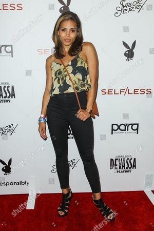 Ciara Renee attends the Playboy and Gramercy Pictures' Self/less party on day 2 of Comic-Con International, in San Diego