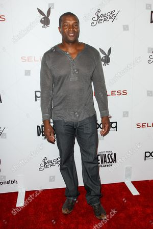 Roger Cross attends the Playboy and Gramercy Pictures' Self/less party on day 2 of Comic-Con International, in San Diego