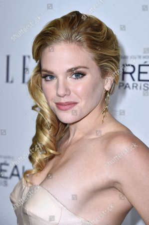 MacKenzie Mauzy attends the 2015 ELLE Women in Hollywood Awards at the Four Seasons Hotel on in Los Angeles, California