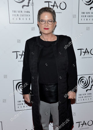 Writer Phyllis Nagy attends the New York Film Critics Circle Awards at TAO Downtown, in New York
