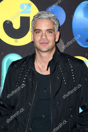 Mark Salling attends the 2015 Just Jared Halloween Party at No Vacancy, in Hollywood, Calif