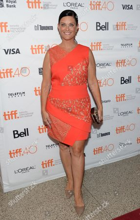 """Stock Picture of Actress Erica McDermott attends the premiere for """"Black Mass"""" on day 5 of the Toronto International Film Festival at the Elgin Theatre, in Toronto"""