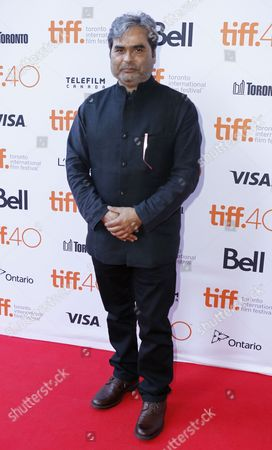 """Stock Photo of Vishal Bhardwaj attends the premiere for """"Guilty"""" on day 5 of the Toronto International Film Festival at the Ryerson theatre, in Toronto"""