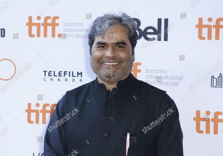 """Vishal Bhardwaj attends the premiere for """"Guilty"""" on day 5 of the Toronto International Film Festival at the Ryerson theatre, in Toronto"""