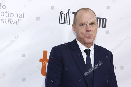 "Brian Helgeland attends the world premiere of ""Legend"" on day 3 of the Toronto International Film Festival at Roy Thomson Hall, in Toronto"