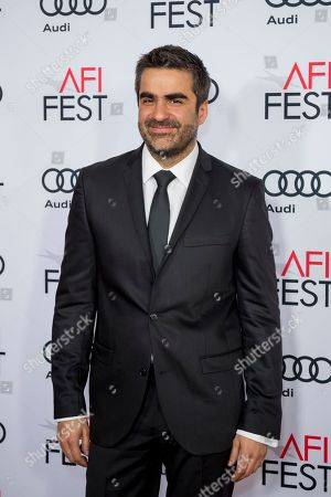 """Stock Picture of Editor Sebastian Sepulveda arrives at the 2016 AFI Festival """"Jackie"""" Centerpiece Gala at the TCL Chinese Theatre, in Los Angeles"""